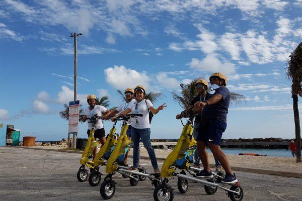 Trikke Bike Beach Tour Curaçao