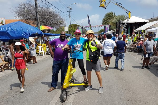 Trikke Bike Tour Curaçao City