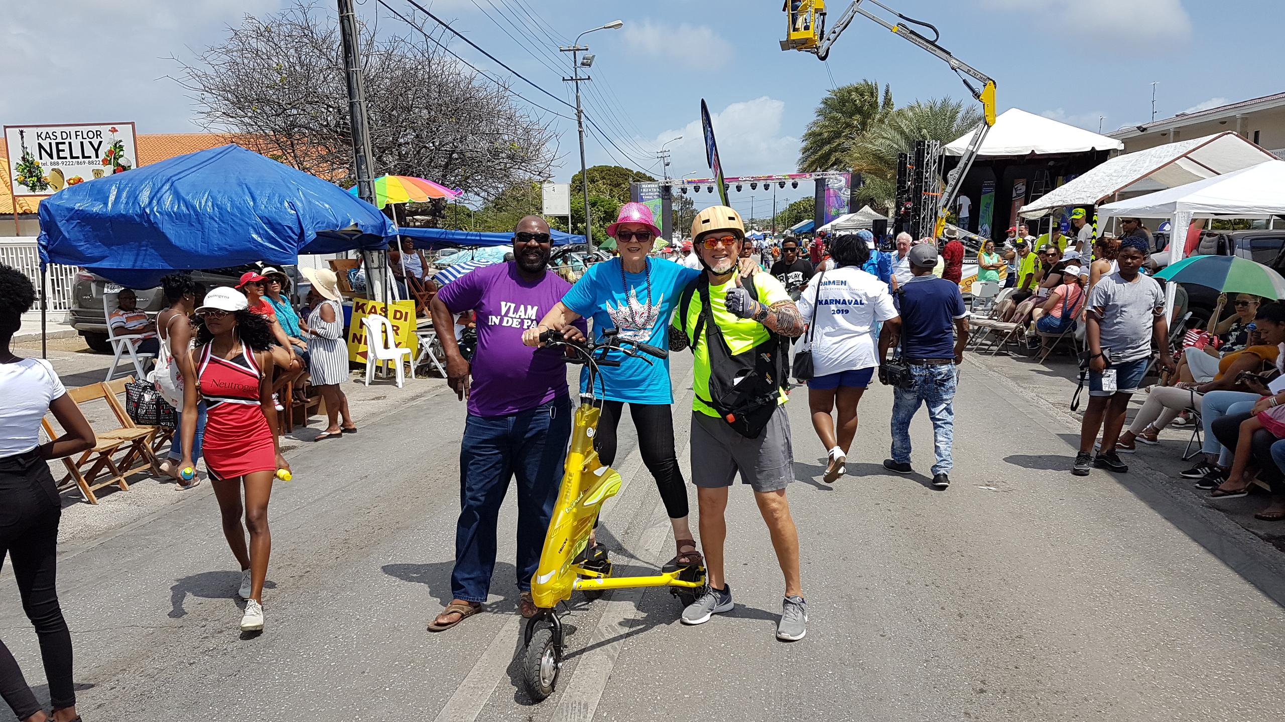 Trikke Bike City Tour Curaçao